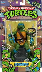 Nickelodeon Playmates Teenage Mutant Ninja Turtles TMNT Classics Collection: Leonardo