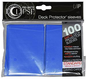 Card Sleeves 100-pack Eclipse Pro-Matte Standard Size: Blue