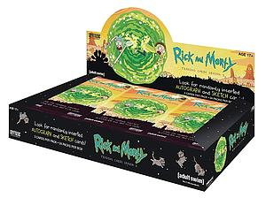 DC Comics Trading Cards Rick and Morty Booster Box