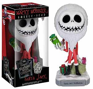 Wacky Wobblers Nightmare Before Christmas Bobbleheads: Santa Jack (Vaulted)
