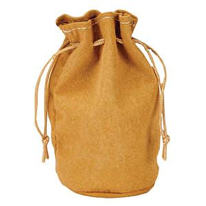 "Dice Bag - Leather Tan Pouch 3""x 4.5"""