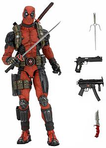 Epic Marvel Super-Poseable Bad @$$ 1/4 Scale Action Figure Deadpool #00 (Missing M16 with Grenade Launcher)