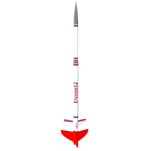 Estes Extreme 12 Flying Model Rocket Kit (EST7225)