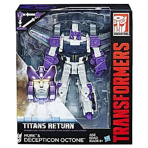 Transformers Generations Titans Return Voyager Class Murk & Decepticon Octone