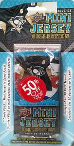 2007-08 Upper Deck Mini Jersey Collection Blister Pack