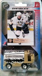 2005-06 Upper Deck Pittsburgh Penguins Zamboni with Sidney Crosby Card