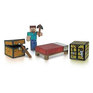 "Jazwares Minecraft 3"" Figures: Survival Packs"