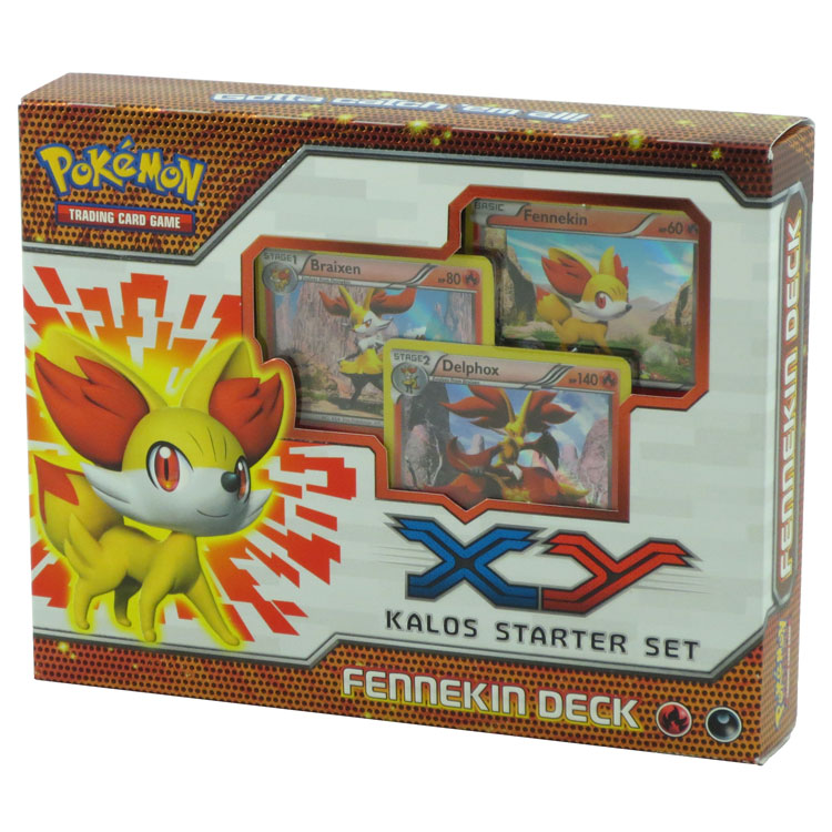 Pokemon Trading Card Game X & Y Starter Sets: Fennekin Deck