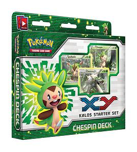 Pokemon Trading Card Game X & Y Starter Sets: Chespin Deck