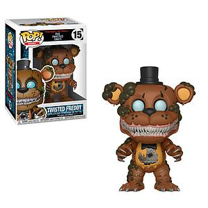 Pop! Books Five Nights at Freddy's: The Twisted Ones Vinyl Figure Twisted Freddy #15
