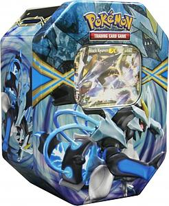 Pokemon Trading Card Game Black & White EX Power Spring Tins 2013: Black Kyurem-EX