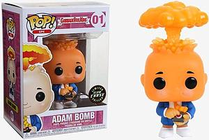 Pop! Garbage Pail Kids Vinyl Figure Adam Bomb #01 Chase (Glows in the Dark)