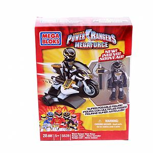 Mega Bloks Power Rangers Megaforce: Black Ranger
