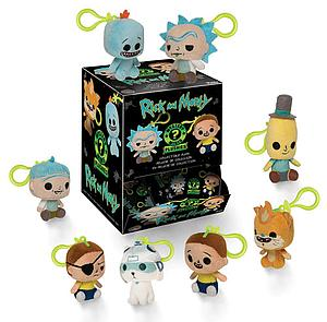 Mystery Minis Plushies Keychain Blind Box: Rick and Morty (18 Packs)