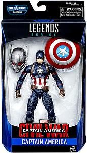 "Marvel Legends Captain America Civil War Series BAF Giant Man 6"" Action Figure Captain America"