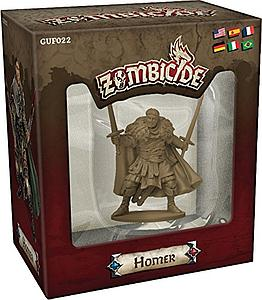Zombicide: Black Plague Figure Homer (Rare)