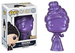 Pop! Television Once Upon a Time Vinyl Figure Regina (Purple) #268 BoxLunch Exclusive
