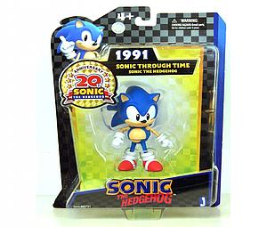"Sonic the Hedgehog 20th Anniversary 5"" 1991 Through Time: Sonic"