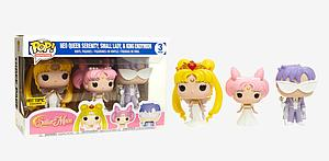 Pop! Animation Sailor Moon Vinyl Figure 3 Pack Neo Queen Serenity, Small Lady & King Endymion Hot Topic Exclusive