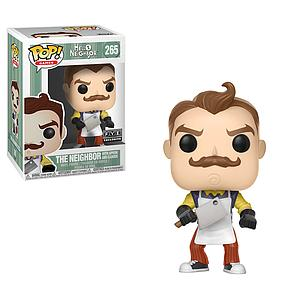 Pop! Games Hello Neighbor Vinyl Figure The Neighbor (with Apron and Cleaver) #265 FYE Exclusive