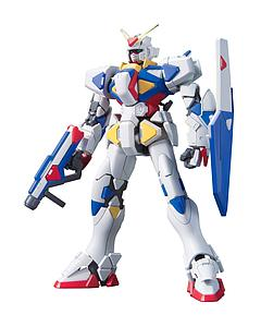 Gundam High Grade Gunpla Builders 1/144 Scale Model Kit: #001 GPB-X80 Beginning Gundam