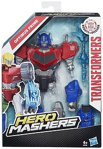 "Transformers Robots in Disguise Hero Mashers 6"" Action Figure Optimus Prime"