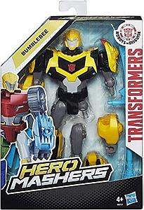 "Transformers Robots in Disguise Hero Mashers 6"" Action Figure Bumblebee"
