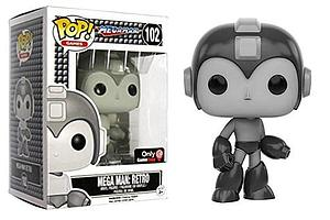 Pop! Games Mega Man Vinyl Figure Mega Man Retro #102 Gamestop Exclusive