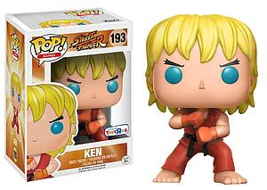 Pop! Games Street Fighter Vinyl Figure Ken (Special Attack) #193 Toys R Us Exclusive