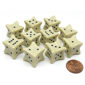 Bone Dice 18mm Single Die
