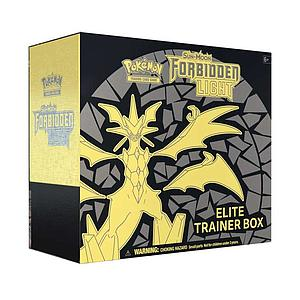 Pokemon Trading Card Game: Sun & Moon Forbidden Light (SM6) Elite Trainer Box (Ultra Necrozma)