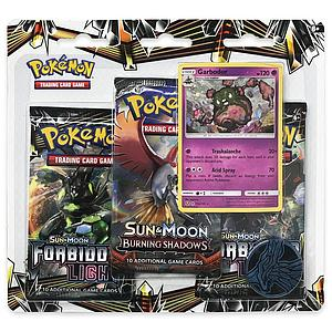 Pokemon Trading Card Game: Sun & Moon #6 3-Pack Blister (Garbodor)