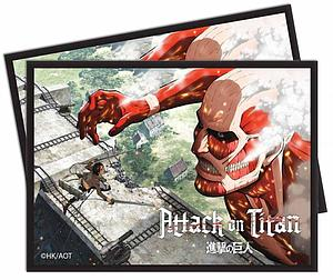 Attack on Titan - Eren vs. Colossal Titan Standard Card Sleeves (66mm x 91mm)