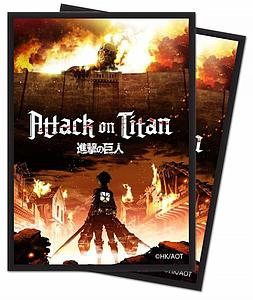 Attack on Titan - The Beginning Standard Card Sleeves (66mm x 91mm)