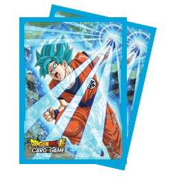 Deck Protectors Dragon Ball Super - Super Saiyan Blue Son Goku 65 Standard Sized Card Sleeves