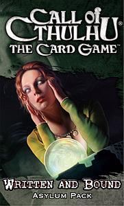 Call of Cthulhu: The Card Game - Written & Bound Asylum Pack