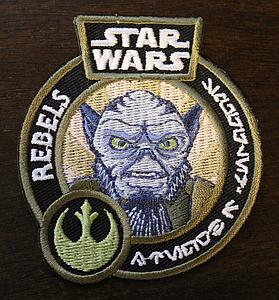 Pop! Patches Star Wars Rebels Zeb (Patch) Smuggler's Bounty Exclusive
