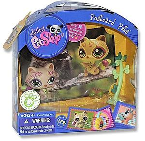 Postcard Pets Littlest Pet Shop: Raccoon