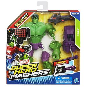 Marvel Super Hero Mashers Hulk Firing Smash Missile
