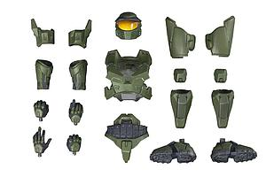 Halo ArtFX+: Master Chief Mark V Armor Set