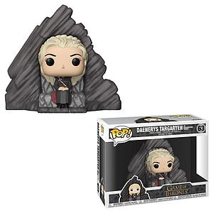 Pop! Television Game of Thrones Deluxe Vinyl Figure Daenerys Targaryen with Dragonstone Throne #63