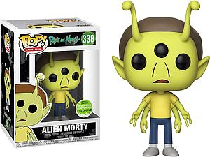 Pop! Animation Rick & Morty Vinyl Figure Alien Morty #338 2018 Spring Convention Exclusive