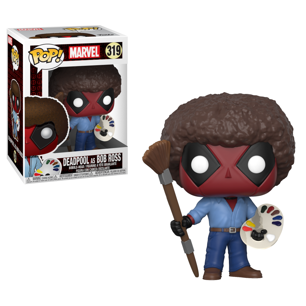 Pop Marvel Deadpool Vinyl Bobble Head Deadpool As Bob