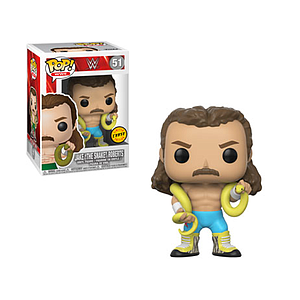 "Pop! WWE Vinyl Figure Jake ""The Snake"" Roberts #51 (Chase)"