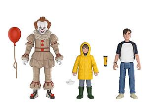 IT 3-Pack: Pennywise, Bill & Georgie