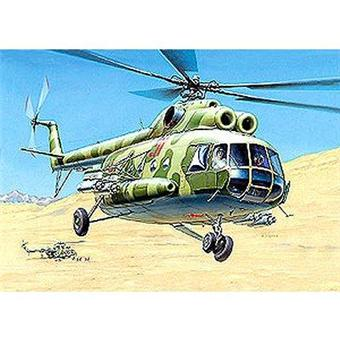 1:72 Scale Helicopter Model Kits Soviet Multi-Role MIL Mi-8T (ZVD7230)