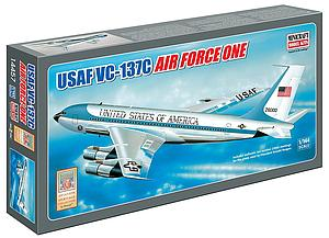 Minicraft 1:144 Scale Plastic Model Kit Air Force One (Classic Tail #26000) (MIN14457)