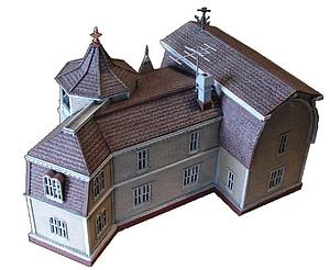 Moebius HO-Scale Model Kits The Munsters The House at 1313 Mockingbird Lane (MOB929)