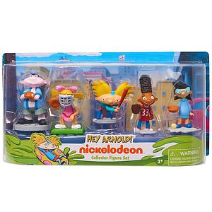 Nickelodeon Hey Arnold 3 Inch 5-Pack Collector Figure Set