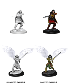 Dungeons & Dragons Nolzur's Marvelous Unpainted Miniatures: Female Aasimar Fighter